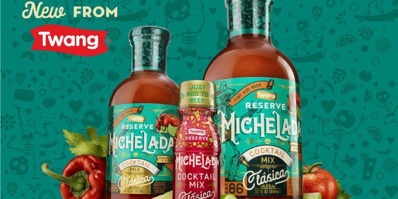 Twang Launches Brand's First Liquid Product: Twang Reserve Michelada Cocktail Mix