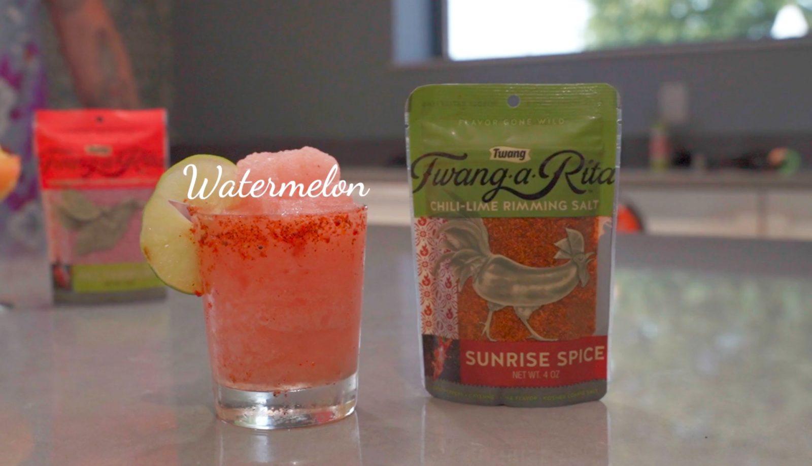 Blended Watermelon Margarita
